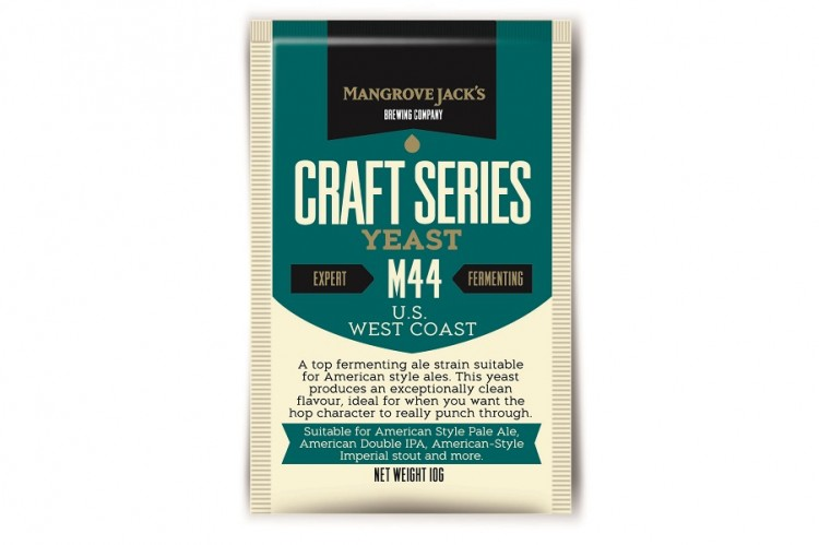 US West Coast Yeast M44, 10 гр