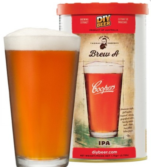 COOPERS Brew A IPA, 1.7 кг