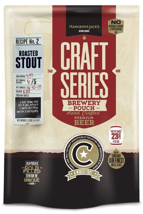 Mangrove Jack's Craft Series Roasted Stout with Dry Hops 2,2 кг